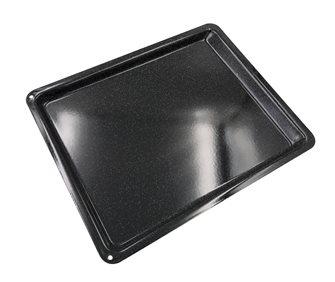 Enamelled steel oven plate 41x32cm