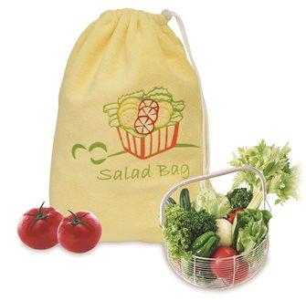 Spin salad bag