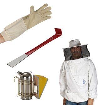 Set de protection pour apiculteur