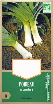 Leek seeds from Carentan