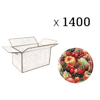 Capsules twist-off jam Fruit picture diam 63 by 1400