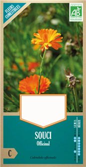 Organic marigold seeds
