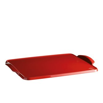 Emile Henry ceramic oven board red color Grand Cru