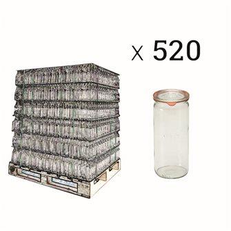 Jar Weck 1 liter special asparagus per pallet of 520