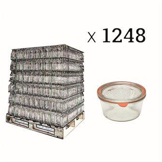 Weck verrines 290 ml diameter 100 per pallet of 1248