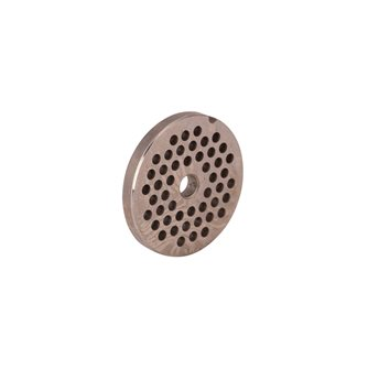 4.5 mm grid for electric meat grinder REBER type 8, stainless steel