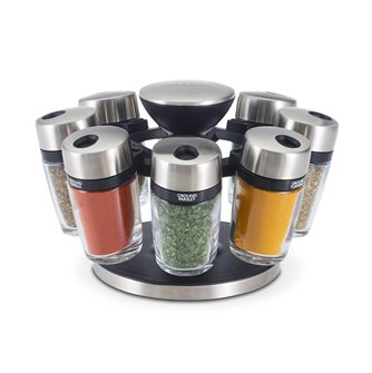 Carousel for herbs and spices - 8 jars