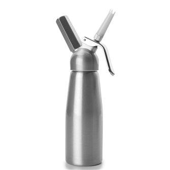 Siphon à crème 0,5 l, laqué, en aluminium