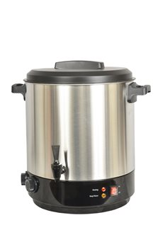 Stainless steel sterilizer 31 l for 2100 W