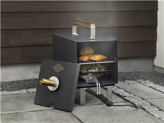 1100 W Black Electric Table Smoker
