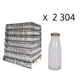 Juice bottle, 1/2 l per pallet of 2304 pieces