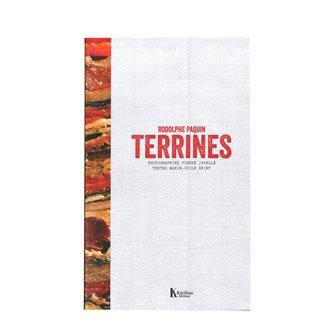 Livre Terrines - 40 recettes de terrines de viande poisson légumes et sucrées