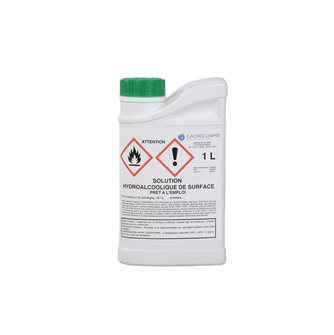 1l hydroalcoholic solution. for surface disinfection