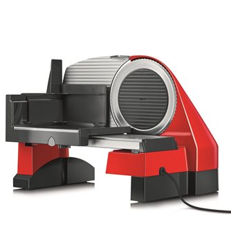 Electric slicer 170 mm red metal 30 mm slicer with vegetable slicer