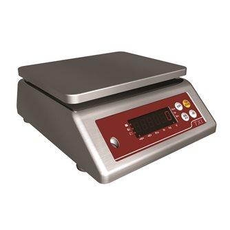 Balance étanche à plateau tout inox pesée de 10 g à 6 kg