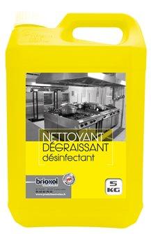 Dégraissant désinfectant pro alimentaire action rapide concentré 5 litres