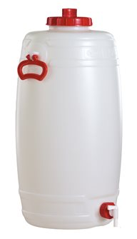 Cylindrical food grade keg - 50 litres