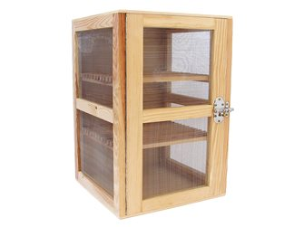 Natural wood cheese pantry 40x40x60 cm