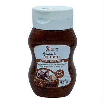 Liquid marinade flavored shallot confit 250 ml bottle