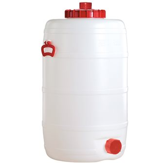 Cylindrical food grade keg - 120 litres